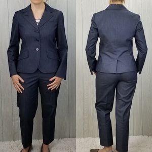 Talbots 2-pc Blue Pant Suit, sz 4P